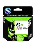 HP 62XL C2P07AE, Tricolor, Cartucho de Tinta de Alta Capacidad Original,...