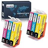 OfficeWorld Cartuchos de tinta para HP 364 364XL, HP Photosmart 5510 5520 5522...