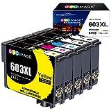 GPC Image 603 XL Tinta Compatible para Epson 603XL Cartuchos de Tinta para Epson...