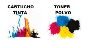 cartuchos de tinta vs toner