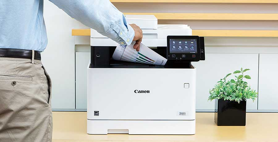 Impresoras láser color canon