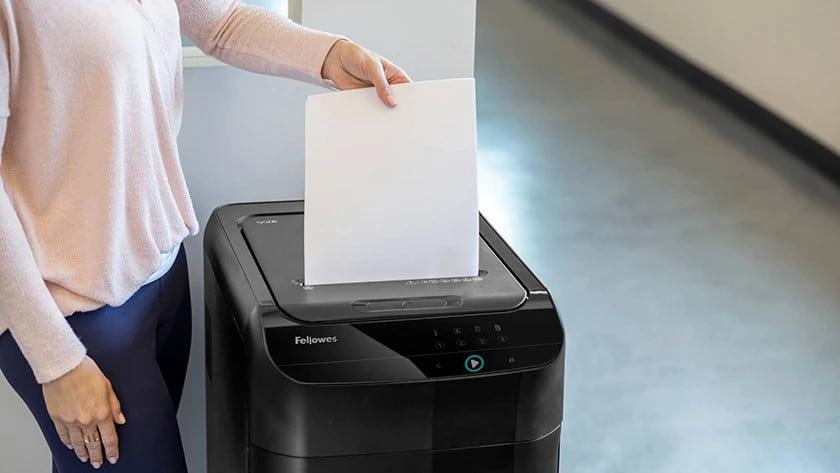Trituradora de papel fellowes